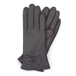 Women's gloves, dark brown, 39-6-550-BB-M, Photo 1