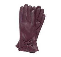 Rękawiczki damskie, bordowy, 39-6-550-BD-M, Zdjęcie 1