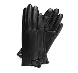 Rękawiczki damskie, czarny, 39-6-551-1-M, Zdjęcie 1