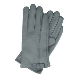 Women's gloves, grey, 39-6-551-S-L, Photo 1