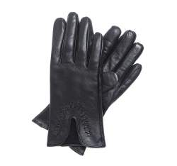Women's gloves, black, 39-6-552-1-X, Photo 1