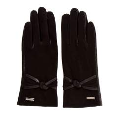 Rękawiczki damskie, czarny, 39-6-554-1-L, Zdjęcie 1