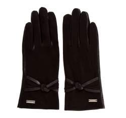 Rękawiczki damskie, czarny, 39-6-554-1-M, Zdjęcie 1