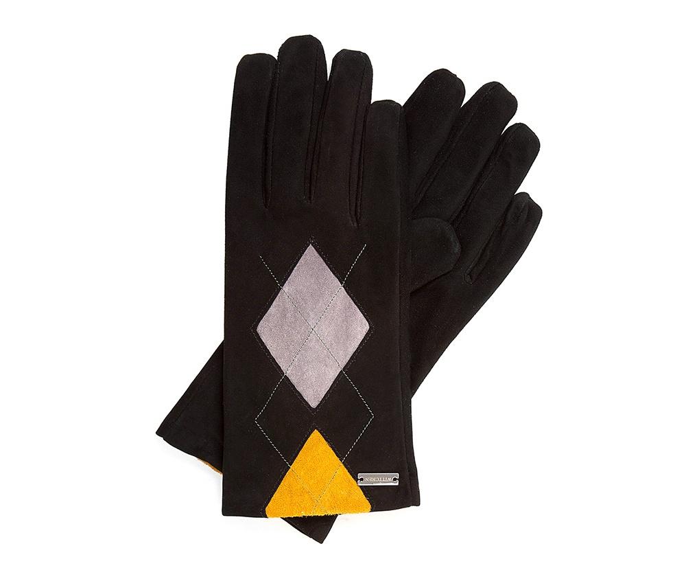 Перчатки женские Wittchen 39-6-555-1, черныйПерчатки женские<br><br>секс: женщина<br>Цвет: черный<br>Размер INT: L<br>материал:: Натуральная кожа