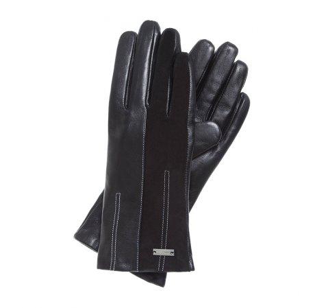 Rękawiczki damskie, czarny, 39-6-556-1-V, Zdjęcie 1