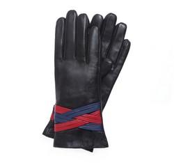 Rękawiczki damskie, czarny, 39-6-557-1-V, Zdjęcie 1