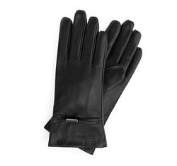 Rękawiczki damskie, czarny, 39-6-558-1-V, Zdjęcie 1