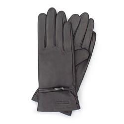 Rękawiczki damskie, ciemny brąz, 39-6-558-BB-L, Zdjęcie 1