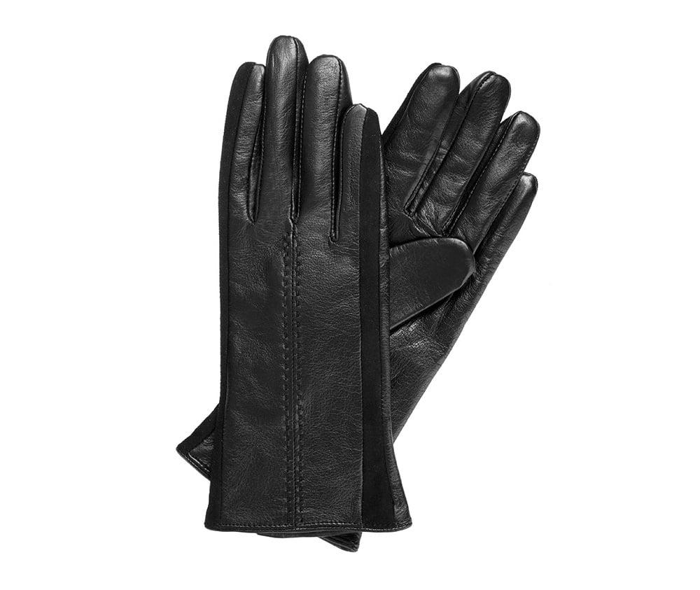 Перчатки женскиеПерчатки женские<br><br>секс: женщина<br>Цвет: черный<br>Размер INT: XL<br>материал:: Натуральная кожа