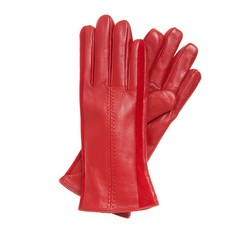 Rękawiczki damskie, czerwony, 39-6-559-2T-X, Zdjęcie 1