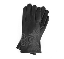 Rękawiczki damskie, czarny, 39-6-560-1-L, Zdjęcie 1