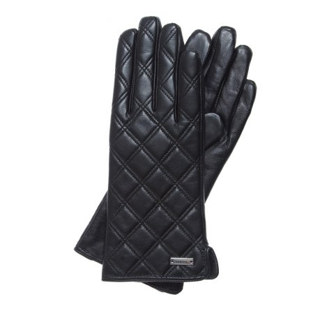 Rękawiczki damskie, czarny, 39-6-561-1-V, Zdjęcie 1