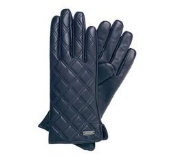 Rękawiczki damskie, granatowy, 39-6-561-GC-M, Zdjęcie 1