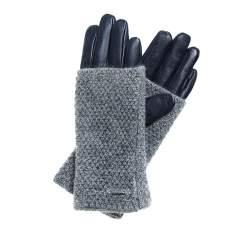 Rękawiczki damskie, śliwkowy, 39-6-563-GC-M, Zdjęcie 1