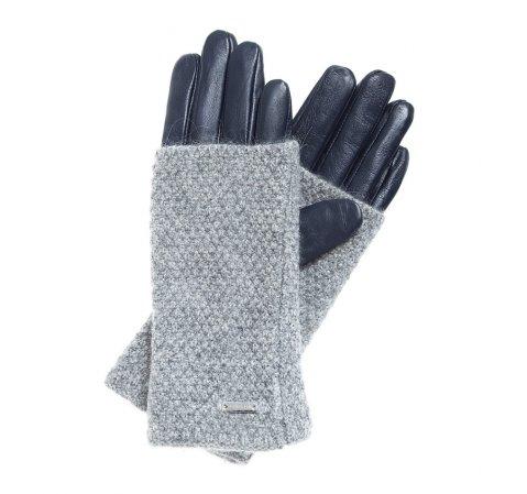 Rękawiczki damskie, śliwkowy, 39-6-563-GC-V, Zdjęcie 1