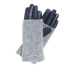 Rękawiczki damskie, granatowy, 39-6-563-GCN-L, Zdjęcie 1