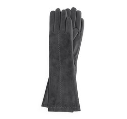 Rękawiczki damskie, srebrny, 39-6-564-S-V, Zdjęcie 1