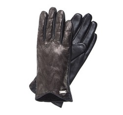 Rękawiczki damskie, czarny, 39-6-565-1-L, Zdjęcie 1