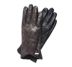 Rękawiczki damskie, czarny, 39-6-565-1-S, Zdjęcie 1