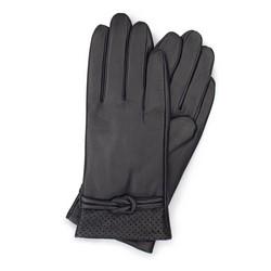 Rękawiczki damskie, czarny, 39-6-569-1-V, Zdjęcie 1