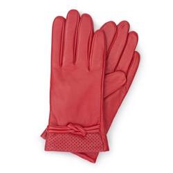 Rękawiczki damskie, czerwony, 39-6-569-2T-S, Zdjęcie 1