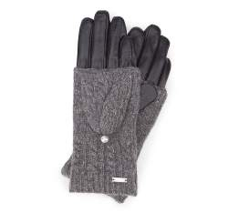 Rękawiczki damskie, czarny, 39-6-570-1-L, Zdjęcie 1