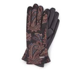 Rękawiczki damskie, czarny, 39-6-571-1-M, Zdjęcie 1