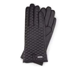 Rękawiczki damskie, czarny, 39-6-574-1-L, Zdjęcie 1