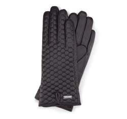 Rękawiczki damskie, czarny, 39-6-574-1-S, Zdjęcie 1