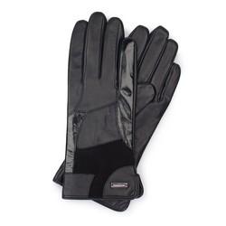 Rękawiczki damskie, czarny, 39-6-575-1-L, Zdjęcie 1