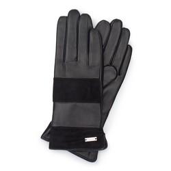 Rękawiczki damskie, czarny, 39-6-576-1-M, Zdjęcie 1