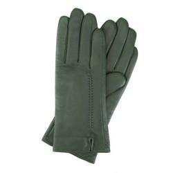 Rękawiczki damskie, zielony, 39-6L-184-Z-M, Zdjęcie 1