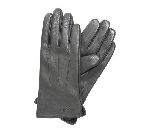 Rękawiczki damskie, szary, 39-6L-202-S-V, Zdjęcie 1