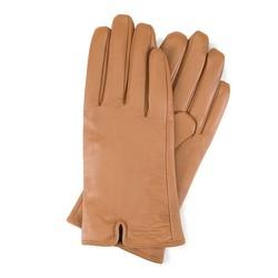 Rękawiczki damskie, jasny brąz, 39-6L-544-L-M, Zdjęcie 1