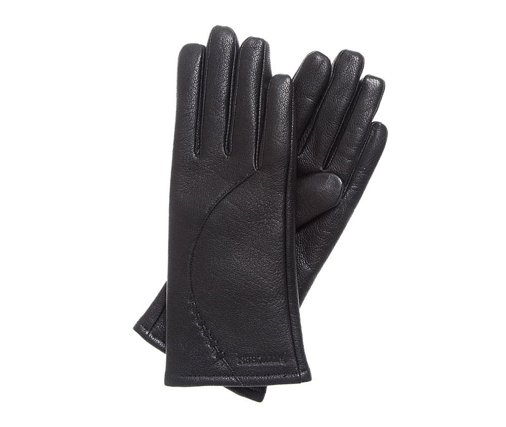 Перчатки женскиеЭлегантные женские утепленные перчатки выполнены из высококачественной натуральной кожи.<br><br>секс: женщина<br>Цвет: черный<br>Размер INT: L<br>вид:: утепленные<br>материал:: Натуральная кожа<br>подкладка:: шерсть