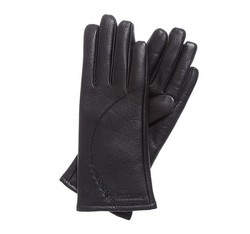 Rękawiczki damskie, czarny, 44-6-513-1-L, Zdjęcie 1