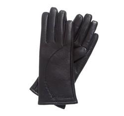 Rękawiczki damskie, czarny, 44-6-513-1-M, Zdjęcie 1