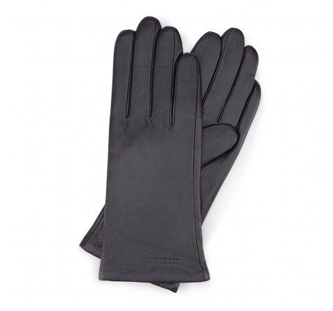 Rękawiczki damskie, czarny, 44-6L-201-1-V, Zdjęcie 1