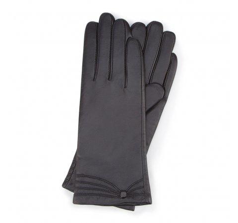 Rękawiczki damskie, czarny, 44-6L-224-1-V, Zdjęcie 1