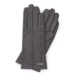 Rękawiczki damskie, ciemny brąz, 45-6-235-BB-S, Zdjęcie 1