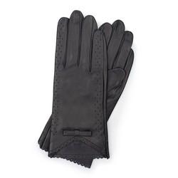 Rękawiczki damskie, czarny, 45-6-236-1-L, Zdjęcie 1