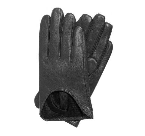Rękawiczki damskie, czarny, 45-6-518-1-V, Zdjęcie 1