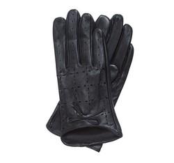Rękawiczki damskie, czarny, 45-6-519-1-M, Zdjęcie 1
