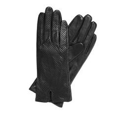Rękawiczki damskie, czarny, 45-6-520-1-M, Zdjęcie 1