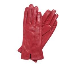 Rękawiczki damskie, czerwony, 45-6-520-2T-X, Zdjęcie 1