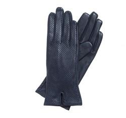 Rękawiczki damskie, granatowy, 45-6-520-GC-S, Zdjęcie 1