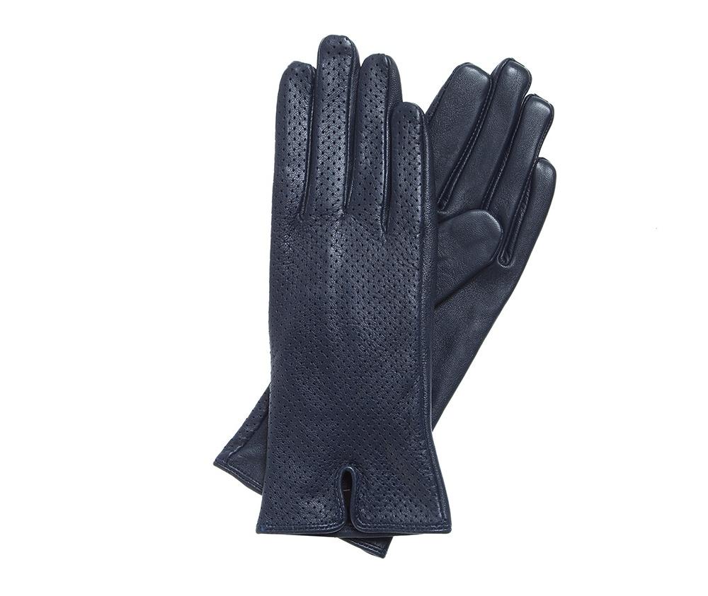 Перчатки женскиеКлассические женские неутепленные перчатки выполнены из высококачественной натуральной кожи.<br><br>секс: женщина<br>Цвет: синий<br>Размер INT: L<br>вид:: неутепленные<br>материал:: Натуральная кожа<br>подкладка:: полиэстр