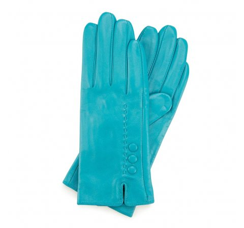 Rękawiczki damskie, turkusowy, 45-6-524-TQ-L, Zdjęcie 1