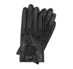 Rękawiczki damskie, czarny, 46-6-275-1-M, Zdjęcie 1