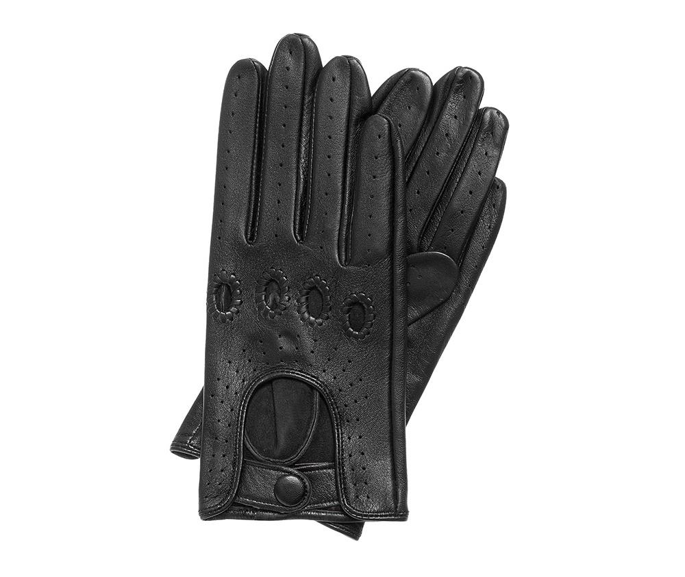 Перчатки женскиеЖенские автомобильные перчатки выполнены из высококачественной натуральной кожи.<br><br>секс: женщина<br>Цвет: черный<br>Размер INT: S<br>вид:: автомобильные<br>материал:: Натуральная кожа